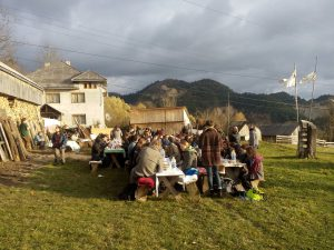 Abendessen in Rosua Montana